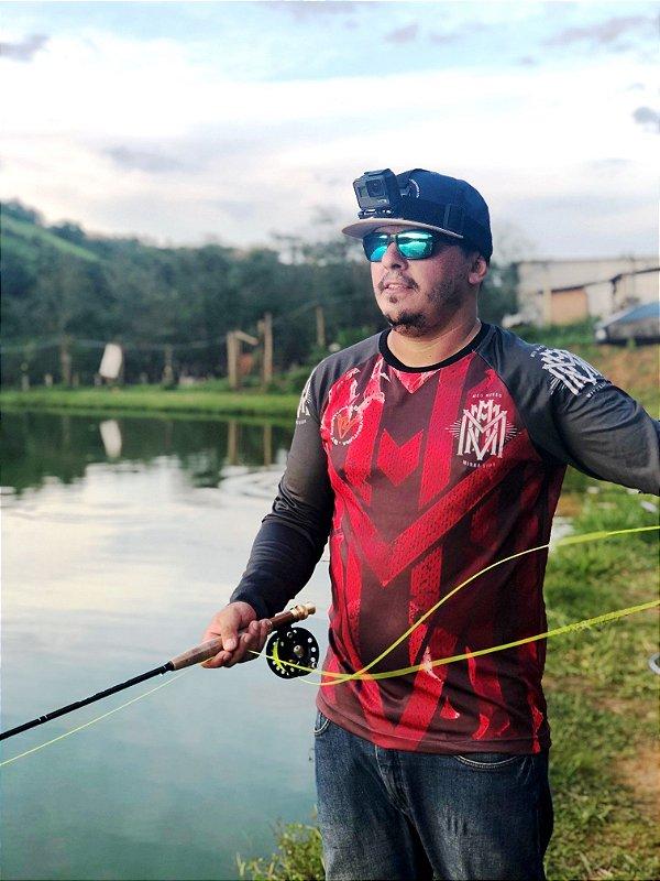 Camisa MMMV Pesca - Vermelha