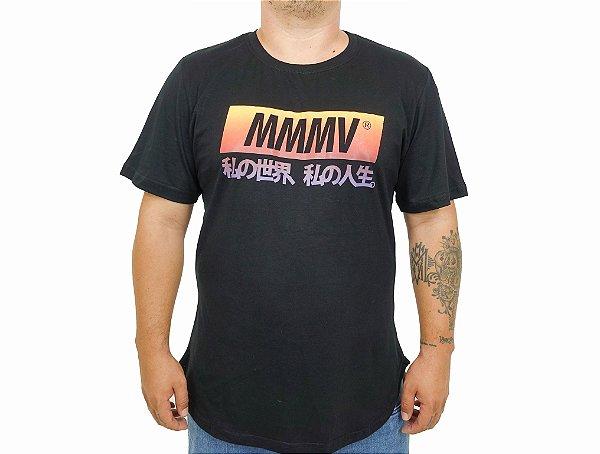 Camiseta Japan MMMV - Preto  OVERSIZE