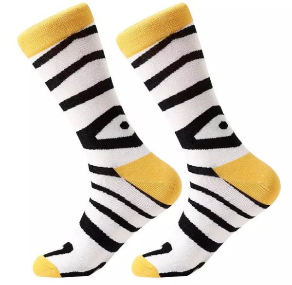 Meia Mixx Listra Zebra