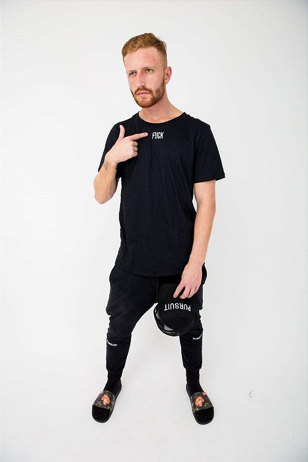 Camiseta Pursuit Fuck Preta