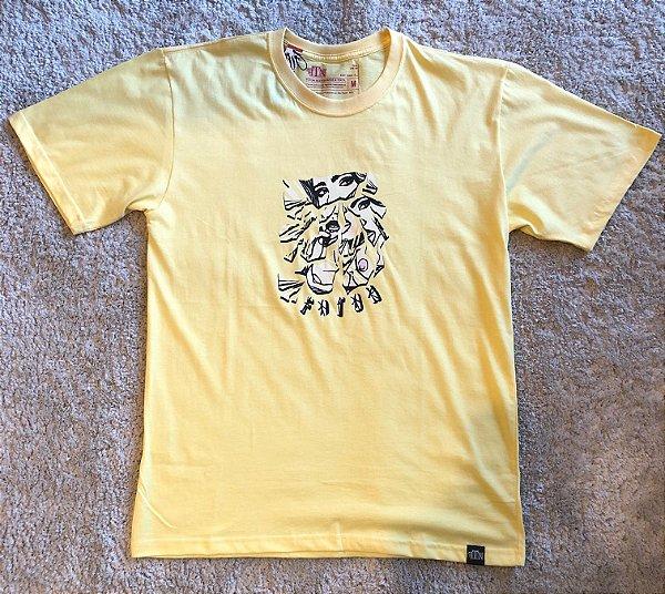 Camiseta Mirror Foton - Amarela
