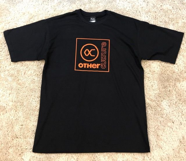 Camiseta Other Culture Logo Laranja