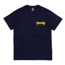Camiseta Thrasher Logo Bottom Preta