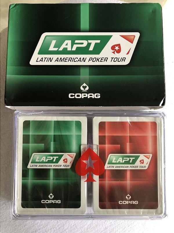 Baralho LAPT 2 unidades na caixa (NOVO)