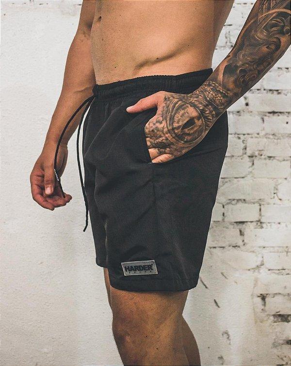 Shorts Harder PRETO