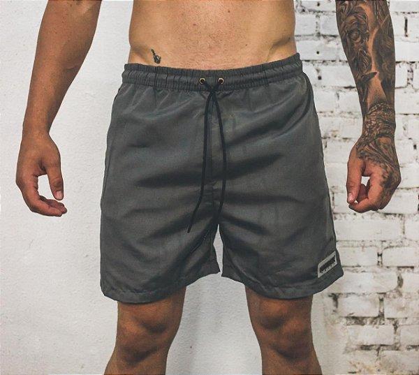Shorts Harder CINZA
