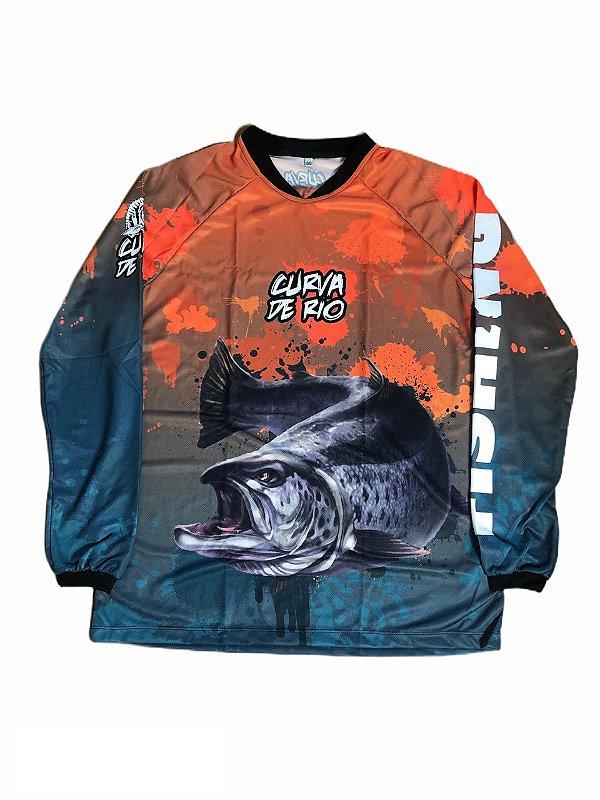 Camisa Pesca Curva de Rio 015