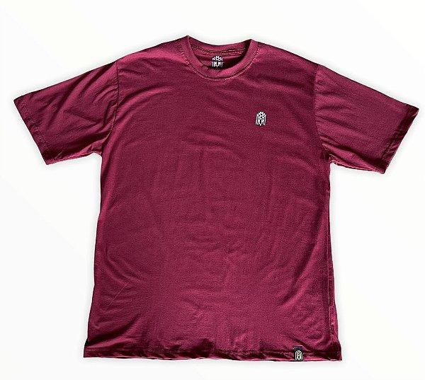 Camiseta Mmmv Bordada - Vinho