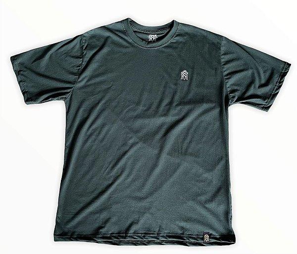 Camiseta Verde Escuro MMMV Bordado