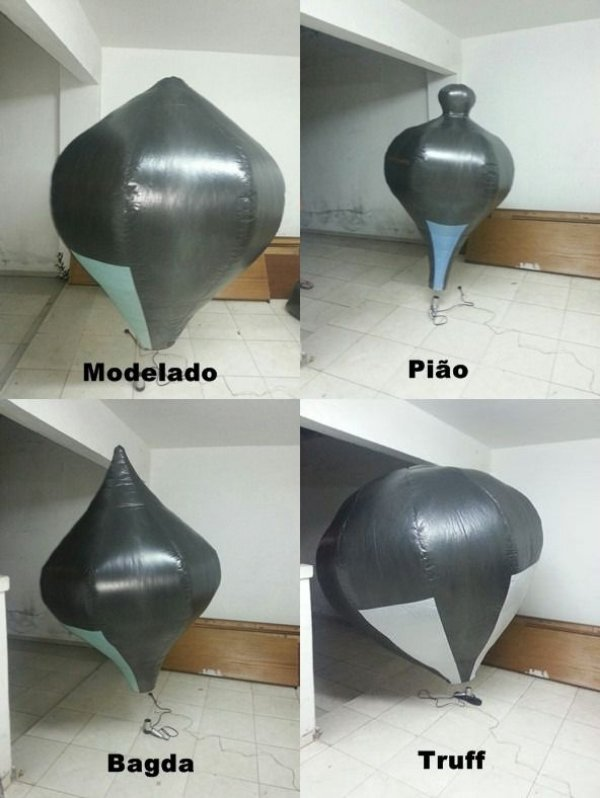 Balão Solar 2 metros plastico - varios moldes