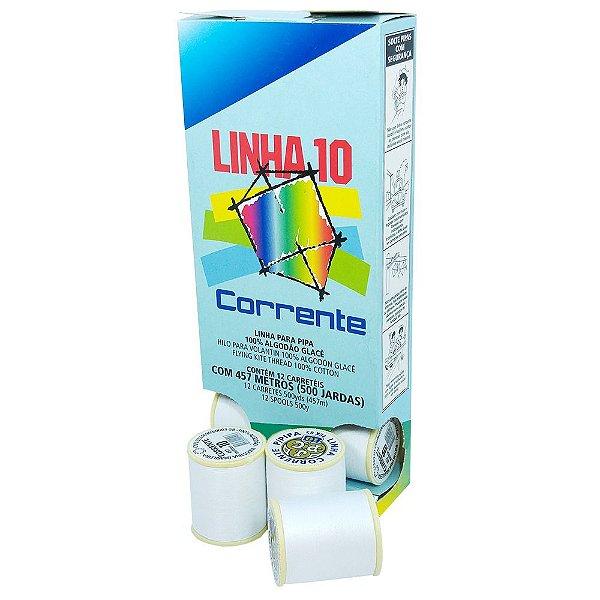 Linha 10 Corrente 500 Jardas c/ 12 Unidades ( PROMOÇAO )