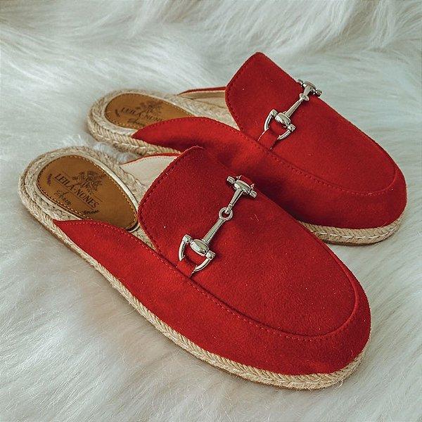 Mule Lolita Vermelha