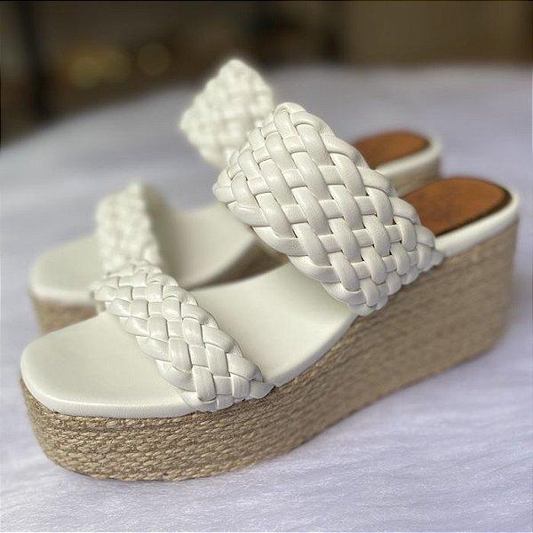Sandália Mule Bella Branco