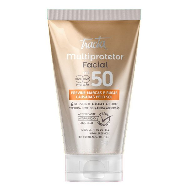 Multiprotetor Facial Tracta 50g