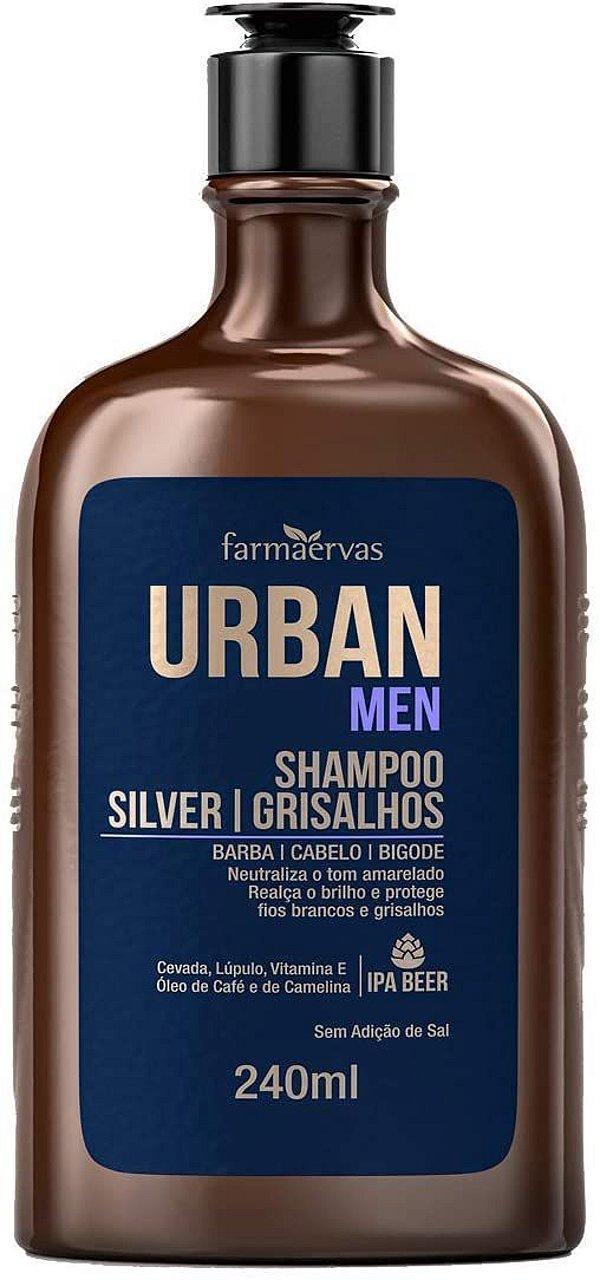Shampoo Urban Men Silver 240ml
