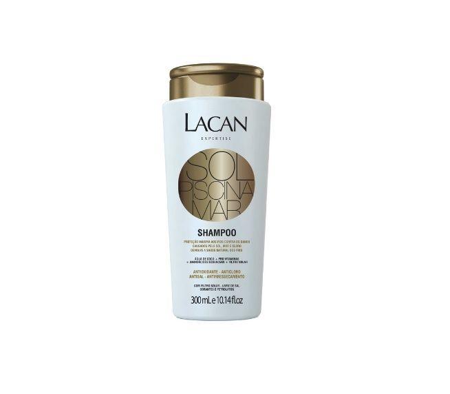 Shampoo Lacan linha Sol Mar Piscina