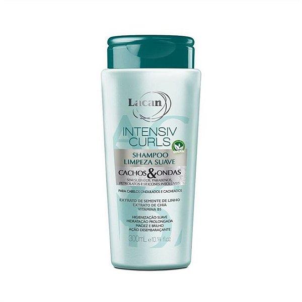 Shampoo Lacan Limpeza Suave Cachos & Ondas Intensiv Curls