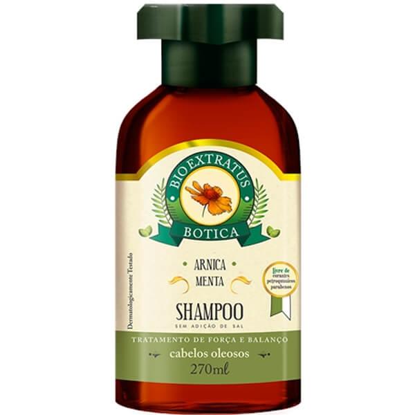 Shampoo Bio Extratus Botica Arnica Menta 270ml