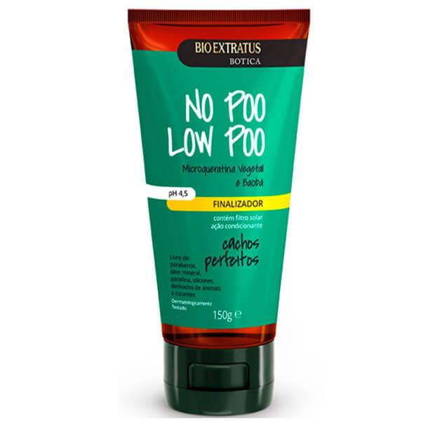 Bio Extratus Botica No Poo Low Poo Cachos Perfeitos - Finalizador 150g