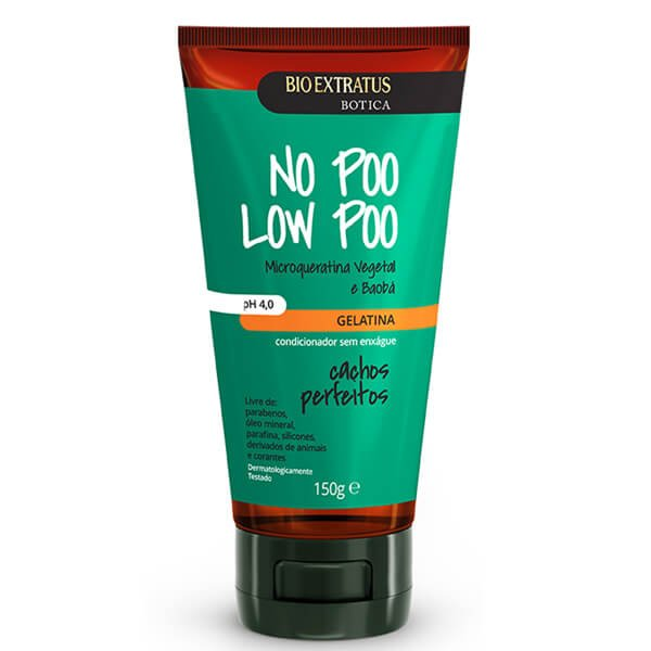 Bio Extratus Botica No Poo Low Poo Cachos Perfeitos - Gelatina 150g