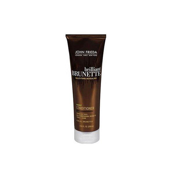 Jonh Frieda Brilliant Brunette Multi-Tone Revealing Daily – Condicionador 250 ml