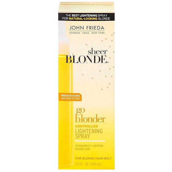 John Frieda Sheer Blonde Go Blonder Controlled Lightening Spray Clareador 103ml