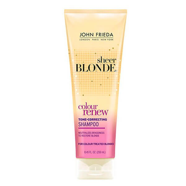 John Frieda Sheer Blonde Color Renew Tone Correcting - Shampoo 250ml