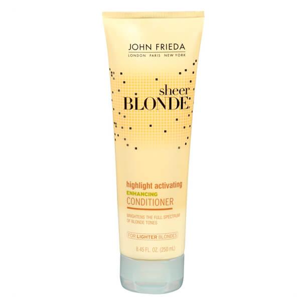 John Frieda Sheer Blonde Enhancing Conditioner Lighter Blondes - Condicionador 250ml
