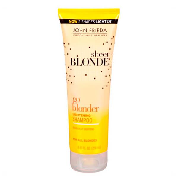John Frieda Sheer Blonde Go Blonder Lightening Shampoo – 250ml
