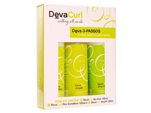 Deva Curl  Kit 3-Passos - 120ml