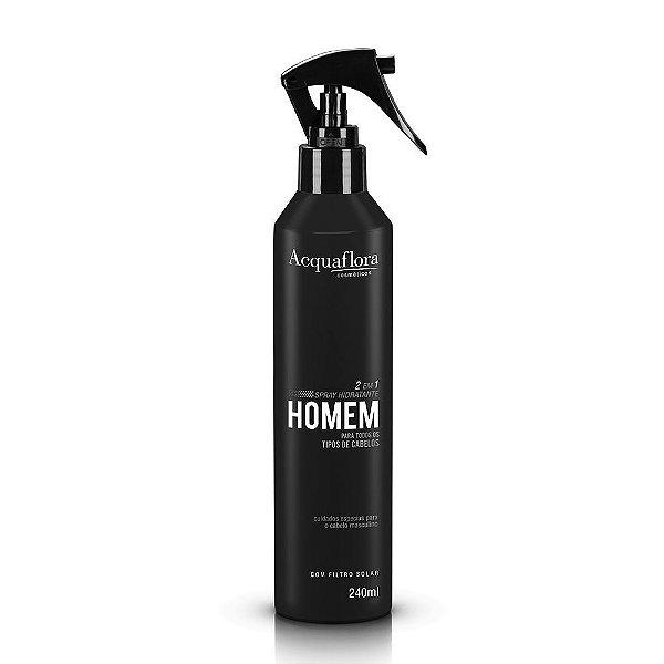 Spray Hidratante Acquaflora Homem 2 Em 1 - 240ml