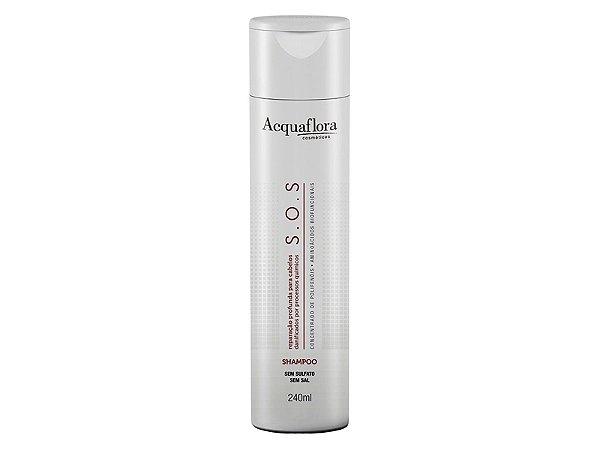Shampoo Acquaflora S.O.S Reparação Profunda 240ml