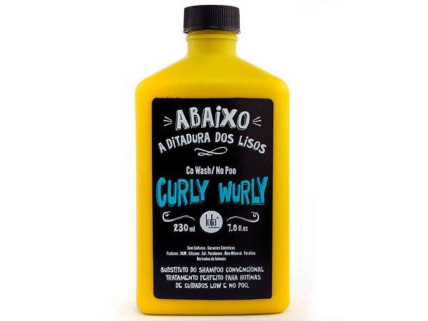 Lola Curly Wurly Co Wash/No Poo - Tratamento Condicionante 230ml