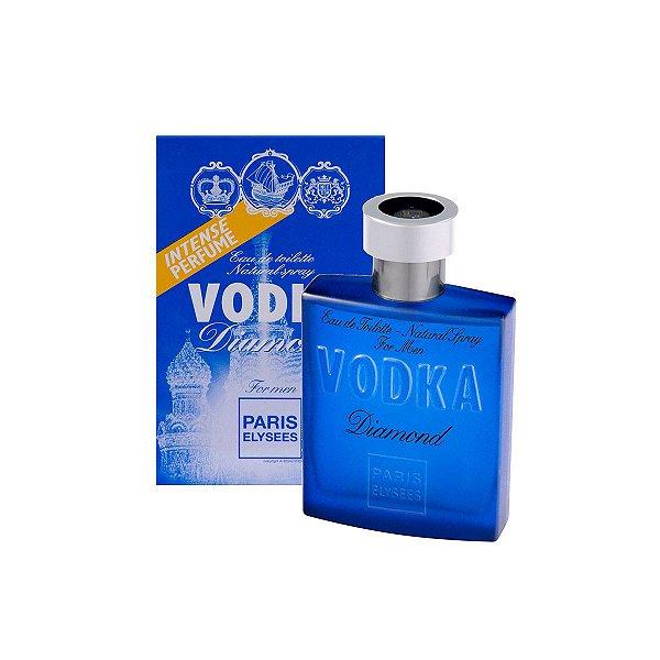 Vodka Diamond Eau De Toilette Paris Elysees - Perfume Masculino 100ml