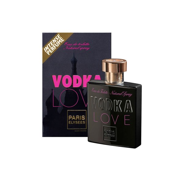Vodka Love Eau De Toilette Paris Elysees - Perfume Feminino 100ml
