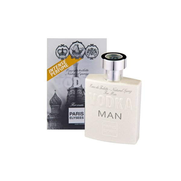 Vodka Man Eau De Toilette Paris Elysees - Perfume Masculino 100ml