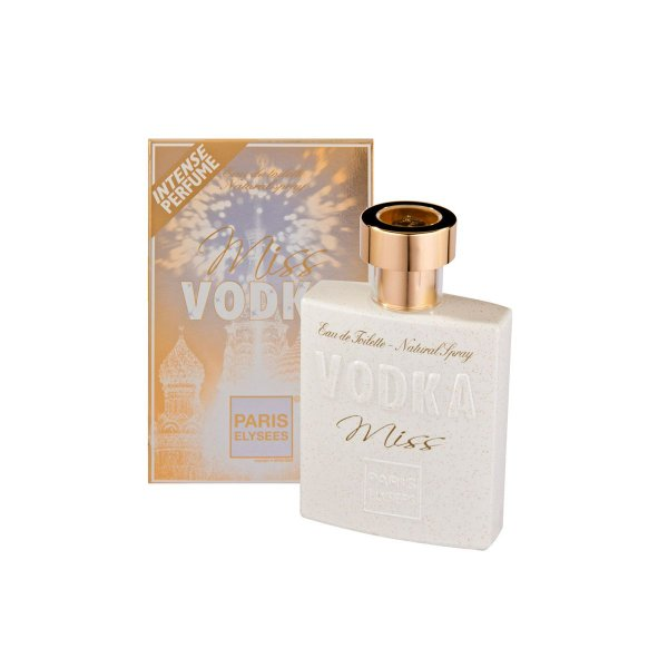 Miss Vodka Eau De Toilette Paris Elysees - Perfume Feminino 100ml