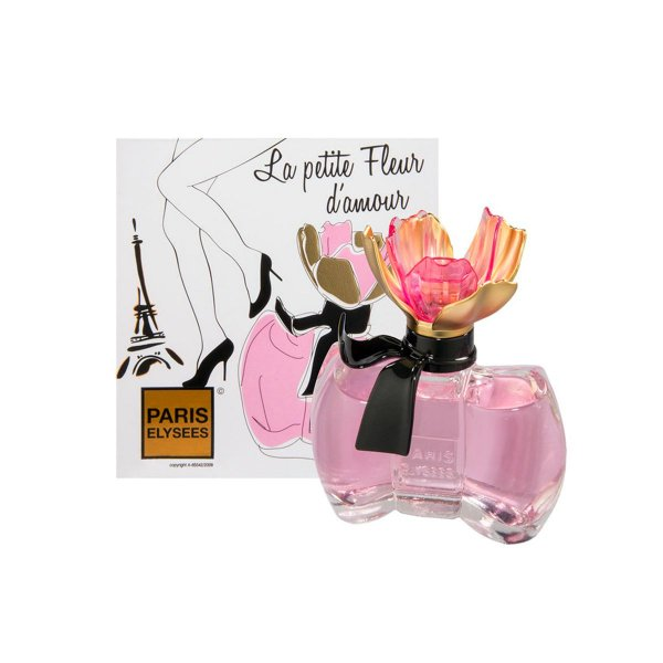 La Petite Fleur D'Amour Eau De Toilette Paris Elysees - Perfume Feminino 100ml