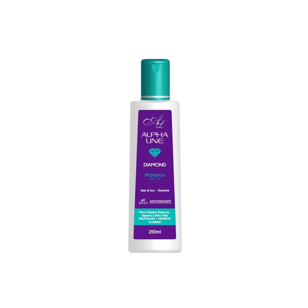 Shampoo Diamond 250ml - Alpha Line