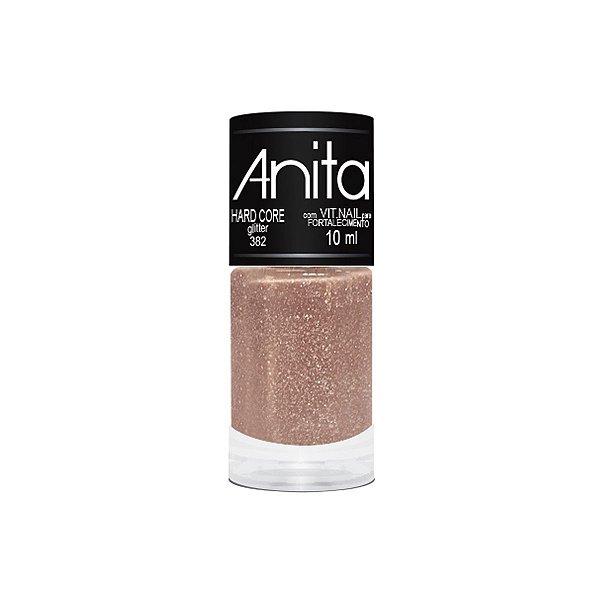 Esmalte Anita Glitter 382 Hard Core - 10 ml
