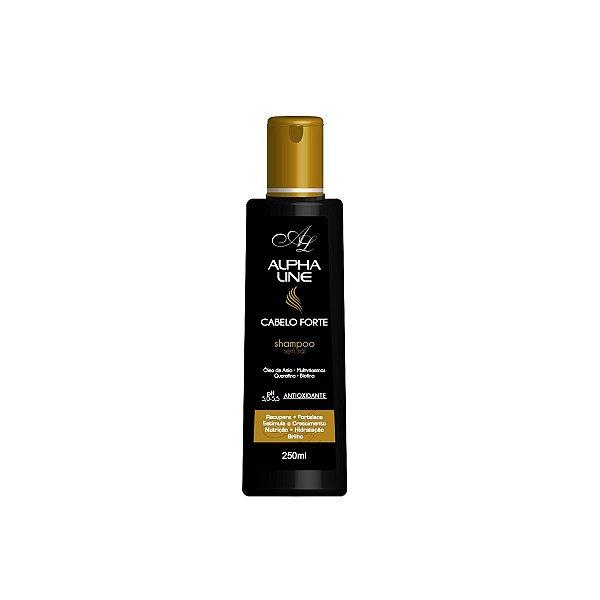 Shampoo Cabelo Forte 250ml - Alpha Line