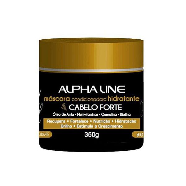 Máscara Alpha Line Cabelo Forte 350g