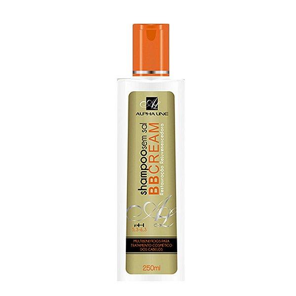 Shampoo BB Cream Restauração Rejuvenescedora  250ml - Alpha Line