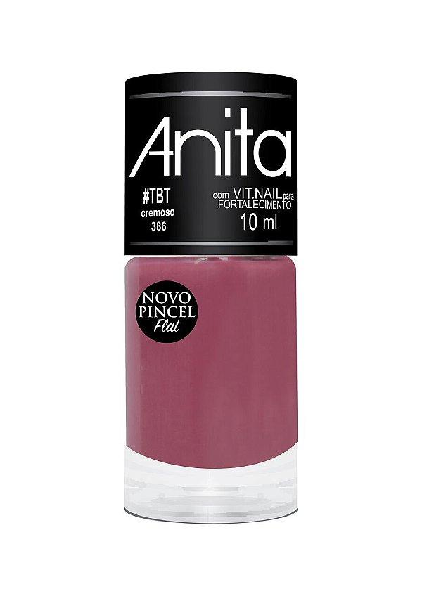 Esmalte Anita Cremoso #TBT 386 - 10 ml