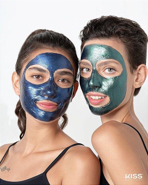 Máscara Facial Galáxia Kiss New York Diamante Azul 10g