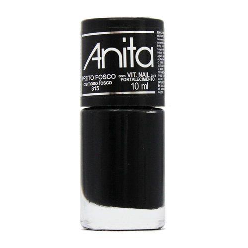 Esmalte Anita Preto Fosco - 10ml