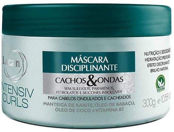 Máscara Lacan Disciplinante Cachos & Ondas Intensiv Curls 300g