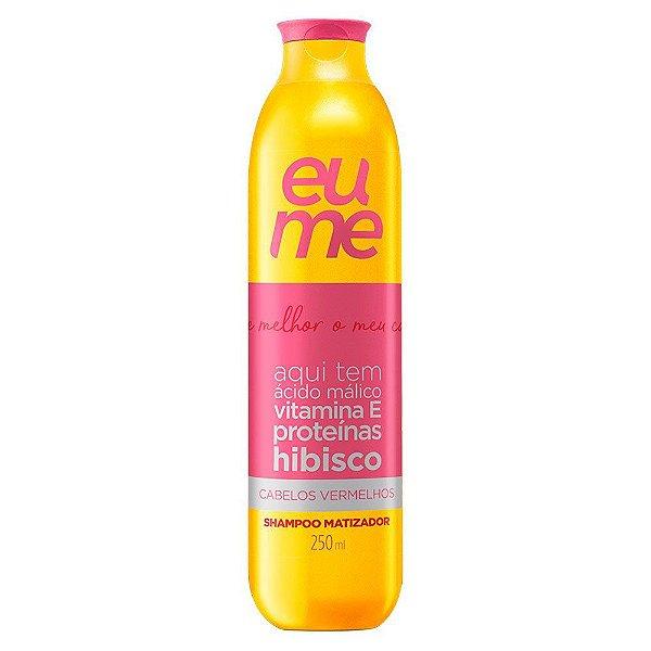 EuMe Shampoo Matizador Vermelho - 250ml