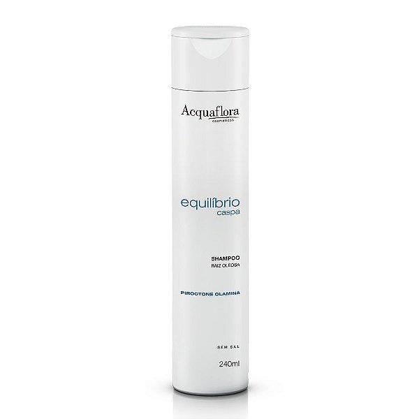 Shampoo Acquaflora Equilíbrio Caspa Raízes Oleosas 240ml