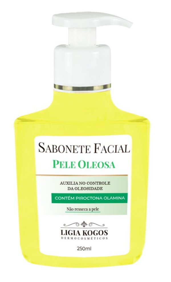 Ligia Kogos Sabonete Facial Pele Oleosa - 250ml